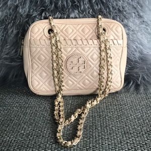 Tory Burch - Marion Quilted Crossbody Chain Bag